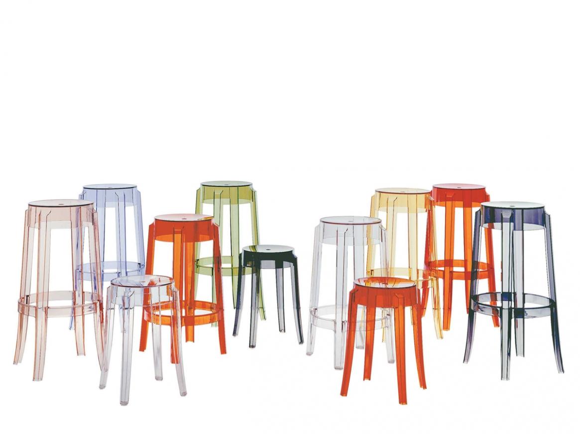 Прозрачные стулья в интерьере