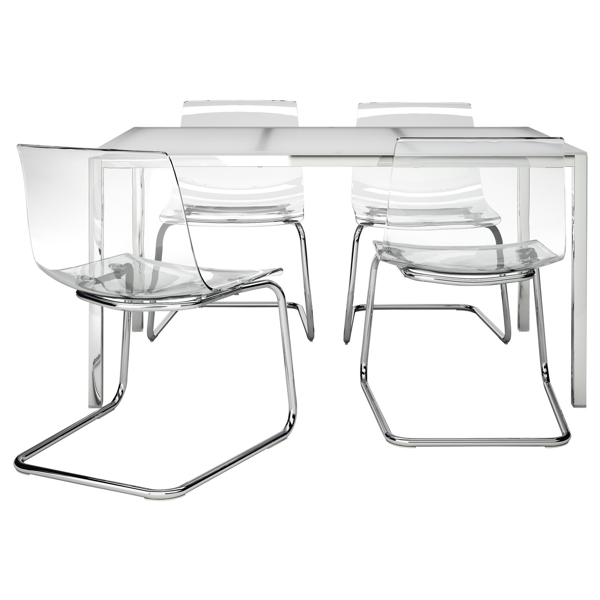 Восхитительные прозрачные стулья в интерьере