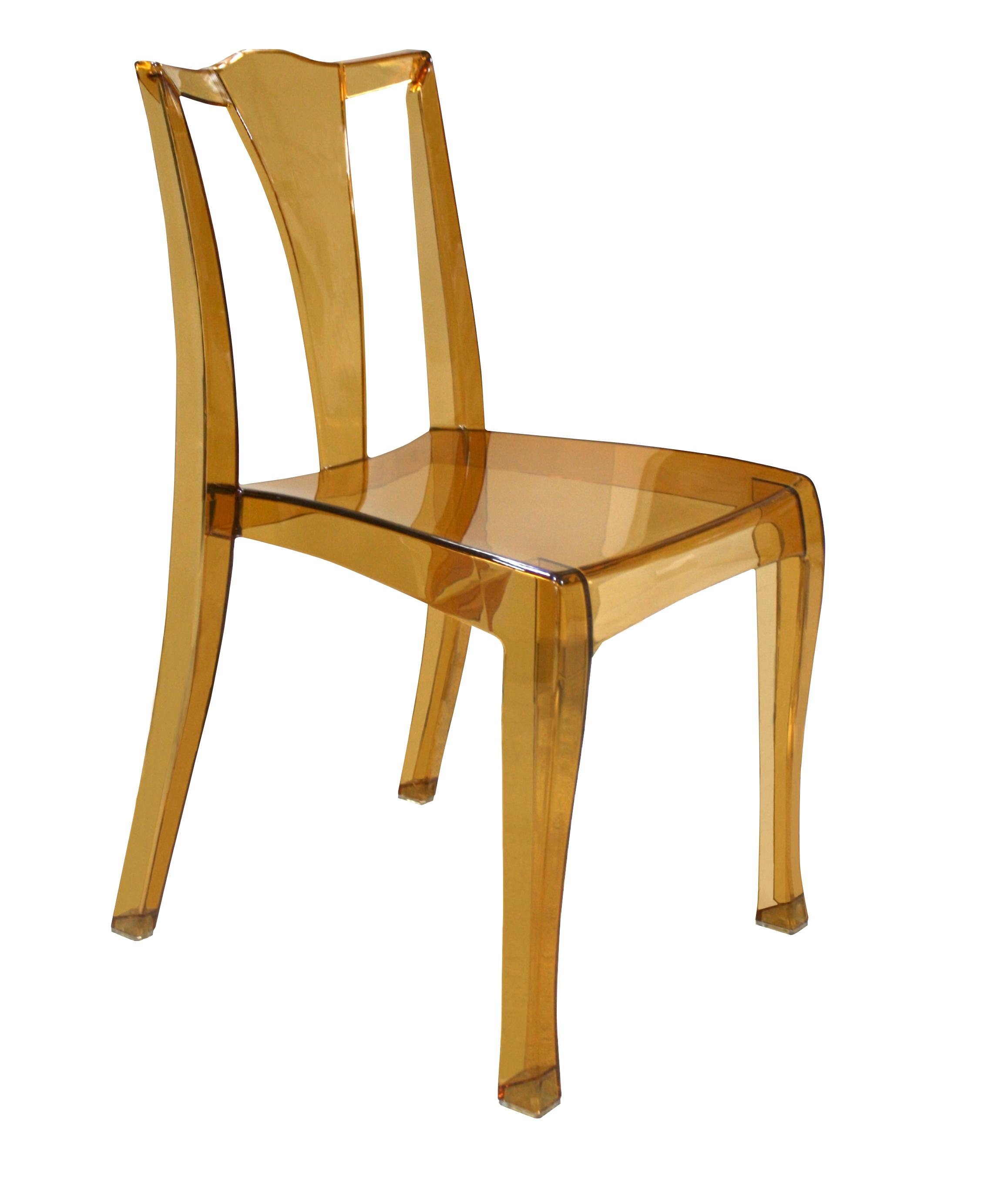 Сногшибательные прозрачные стулья в интерьере