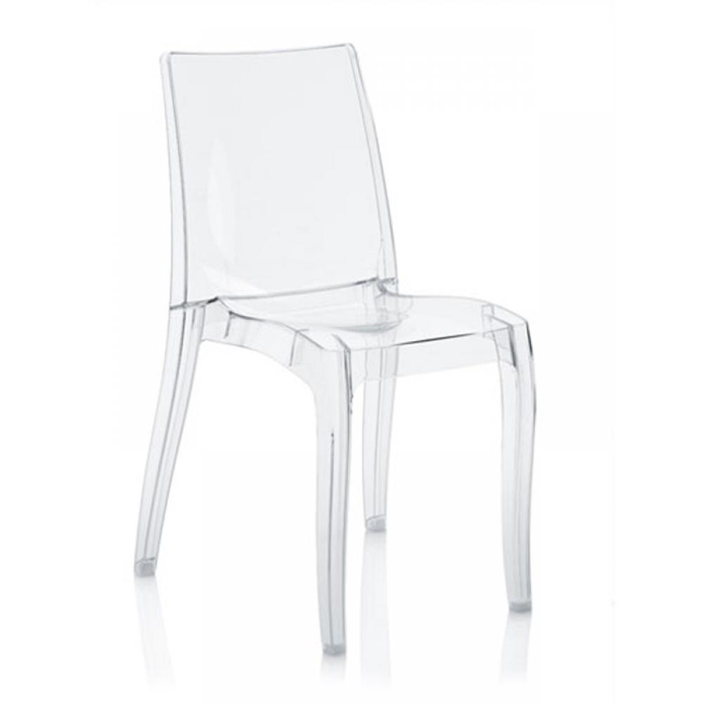 Потрясающие прозрачные стулья в интерьере