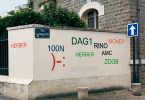 Матье Тремблин: теги граффити в виде цифрового облачного текста