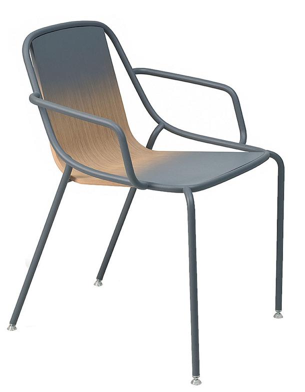 Кресло Alle в сером цвете