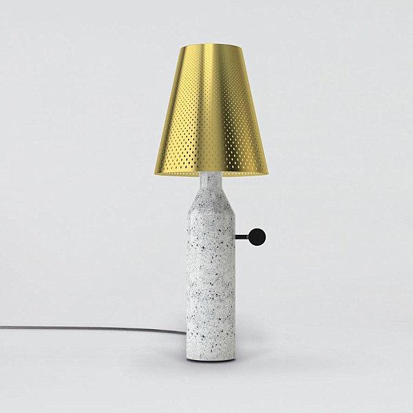 Лампа из мрамора