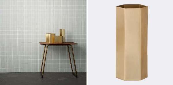 Геометрическая форма предмета декора