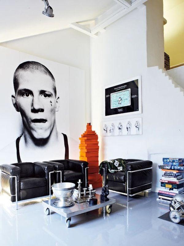 Предметы современного искусства в интерьере