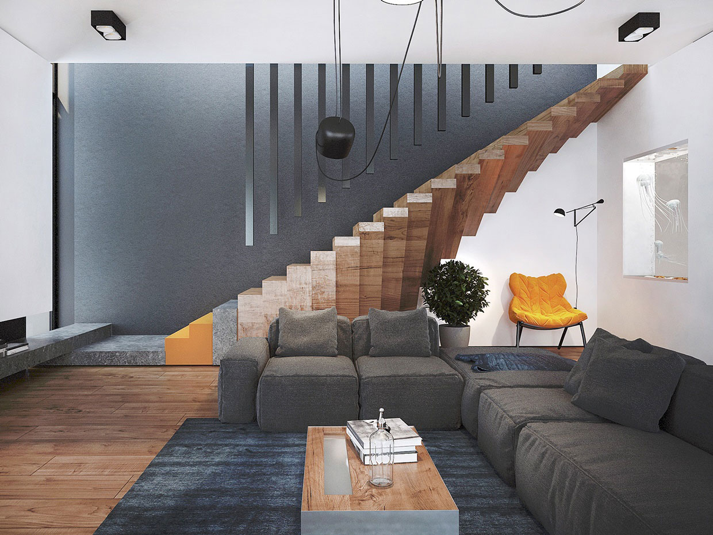 Дизайн интерьера гостиной от Павла Войтова