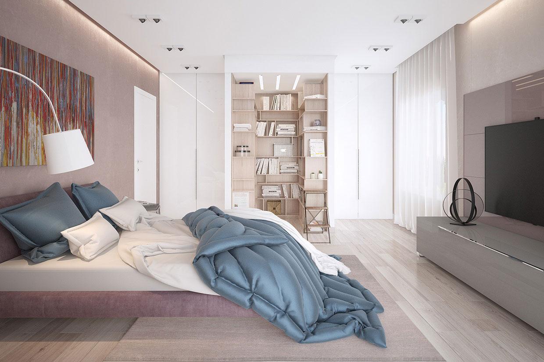 Зона хранения в спальне