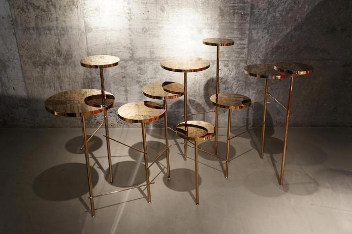 Чудесные табуреты Trickle Trickle stool