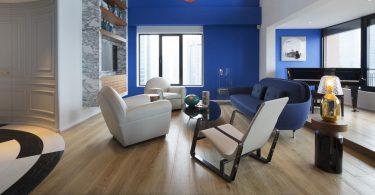 Оригинальные цветовые решения стен в интерьере