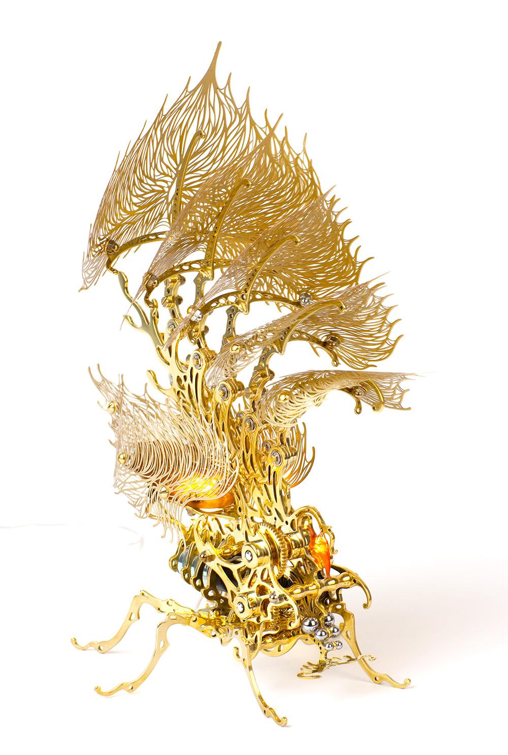 Лампы-насекомые от У-Рам Чхве