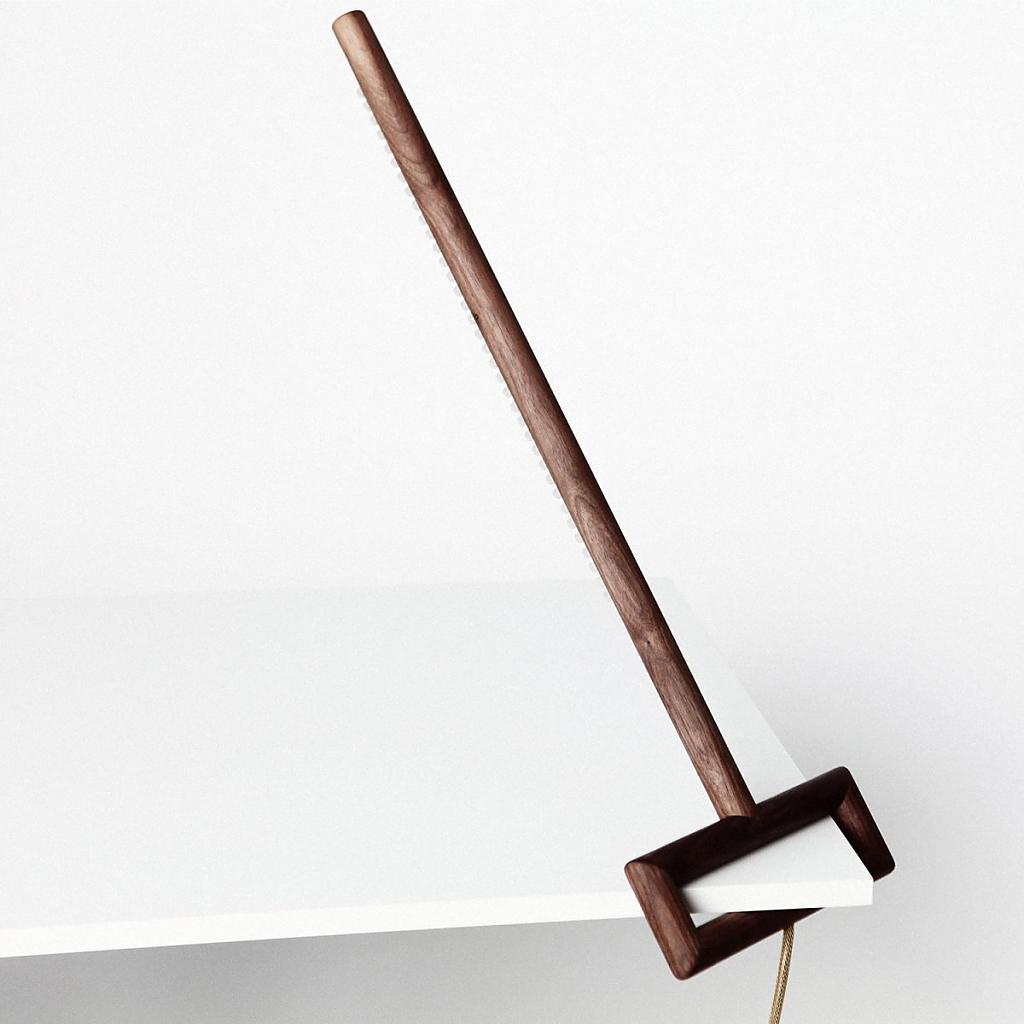 Превосходная угловая лампа от Ярослава Мисонжникова