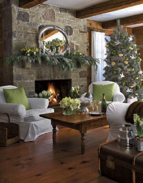 Украшение дома в Новому году - Фото 4