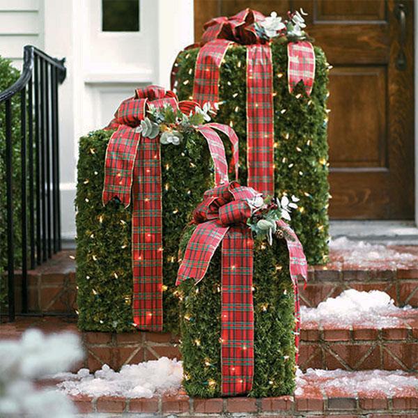 Украшение дома в Новому году - Фото 10