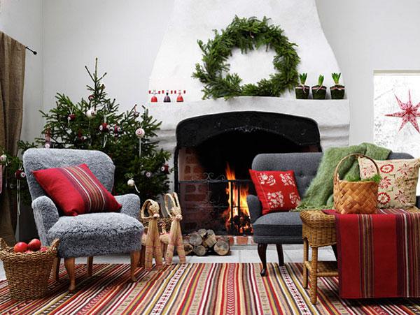 Украшение дома в Новому году - Фото 14