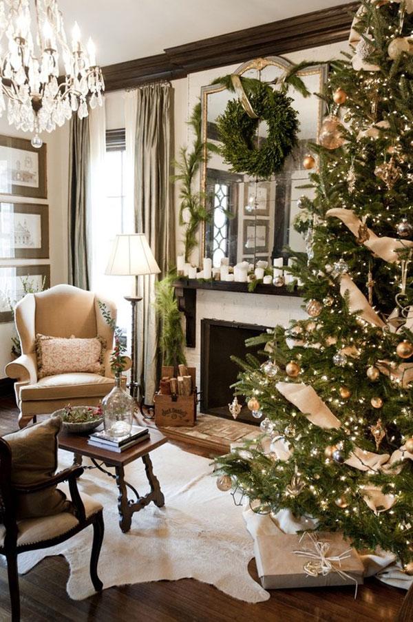 Украшение дома в Новому году - Фото 15