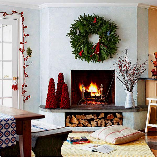 Украшение дома в Новому году - Фото 16