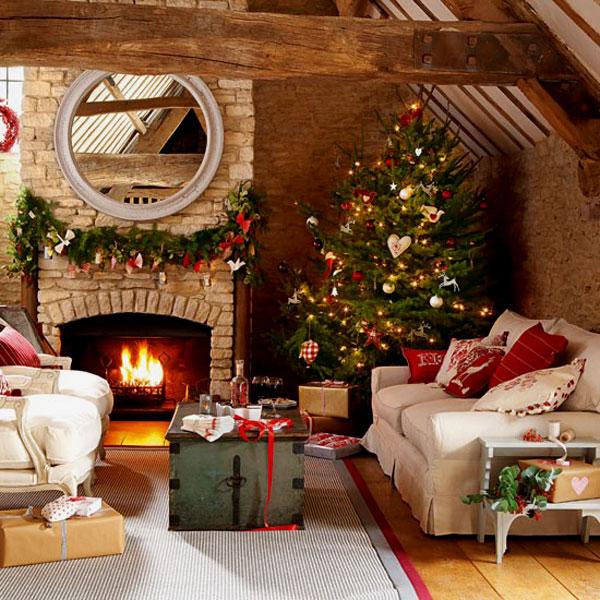 Украшение дома в Новому году - Фото 17