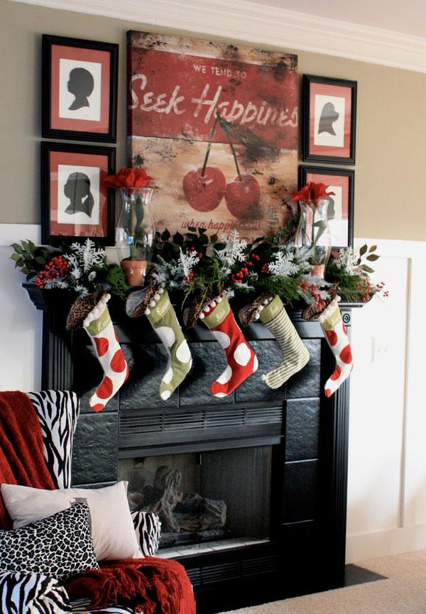 Украшение дома в Новому году - Фото 19