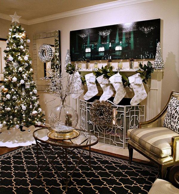 Украшение дома в Новому году - Фото 20