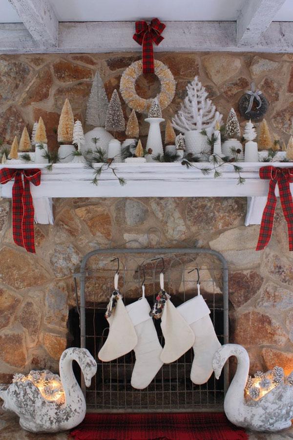 Украшение дома в Новому году - Фото 21