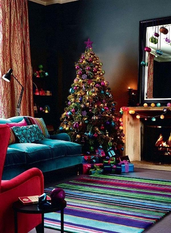 Украшение дома в Новому году - Фото 24