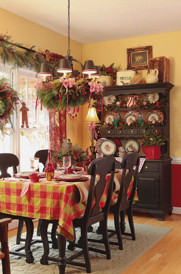 Украшение дома в Новому году - Фото 25