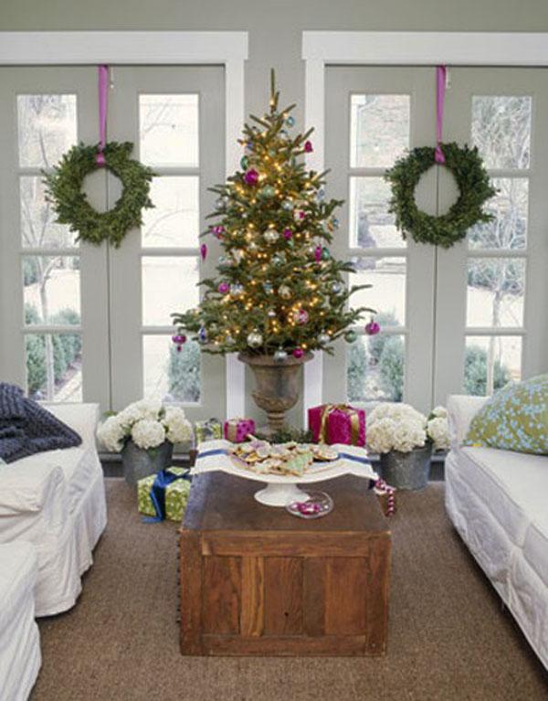 Украшение дома в Новому году - Фото 28