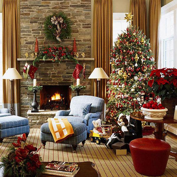 Украшаем дом к новому году фото своими руками
