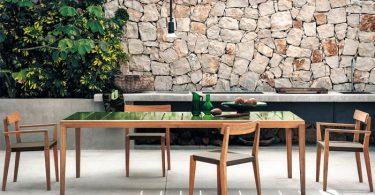 Потрясающая уличная мебель для террас от компании Тека