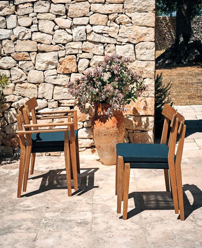 Дизайнерская деревянная уличная мебель для террас - Фото 6