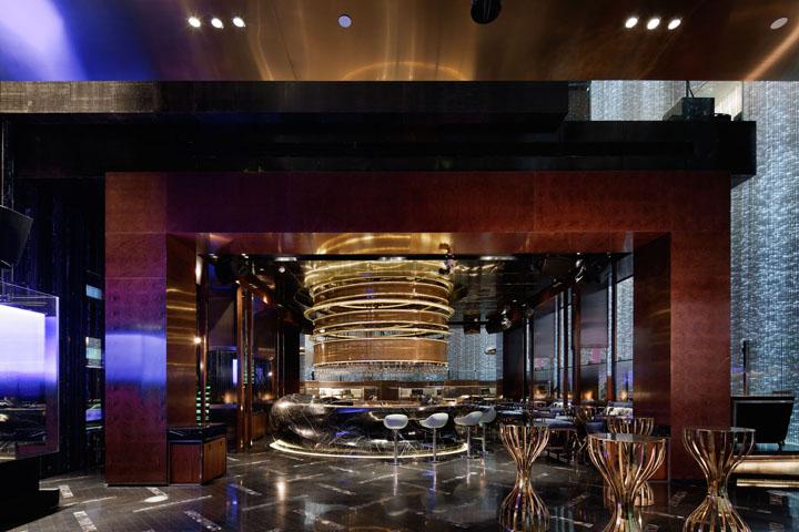 Дизайн интерьера помещения отеля в Китае