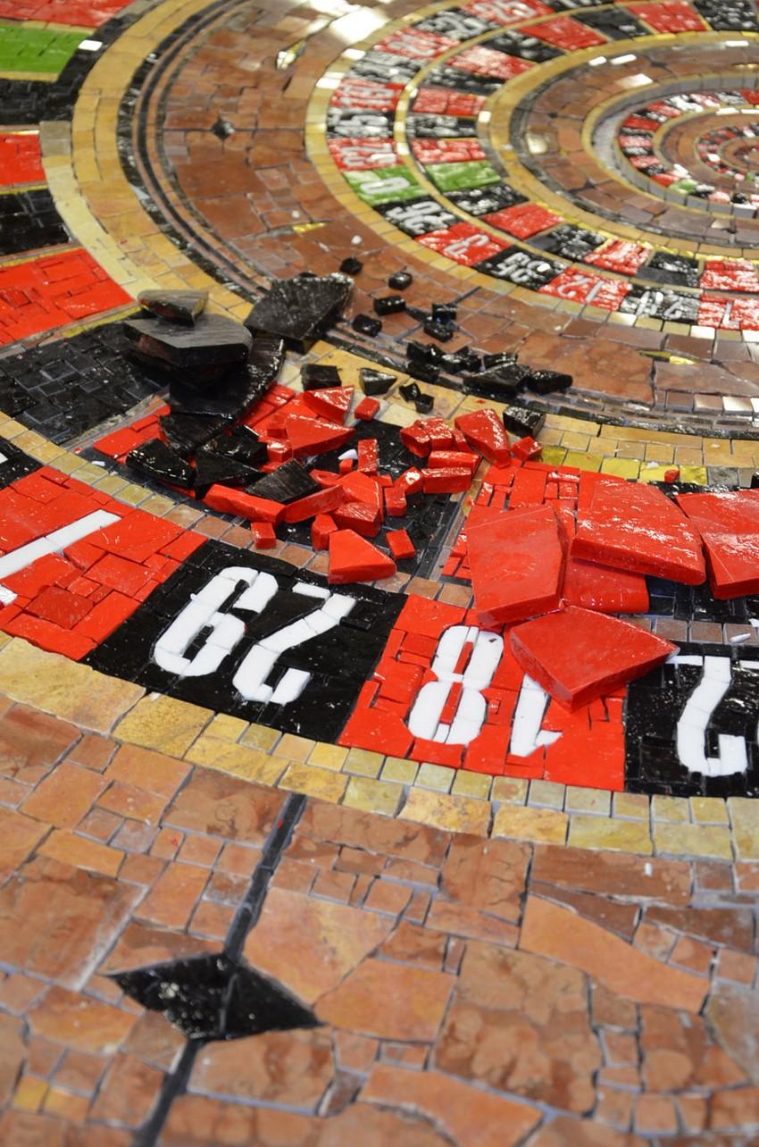 Красиво изделия рулетки от компании Friul Mosaic