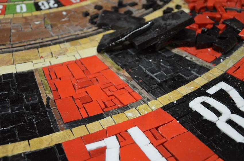 Красивый переплет рулетки от компании Friul Mosaic