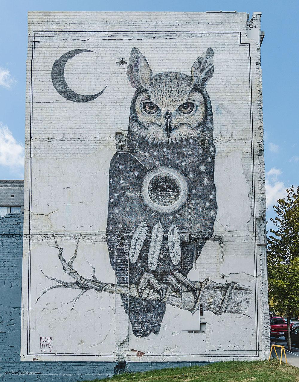 Открытая галерея в городской среде: фестиваль уличного искусства в Форт-Смите