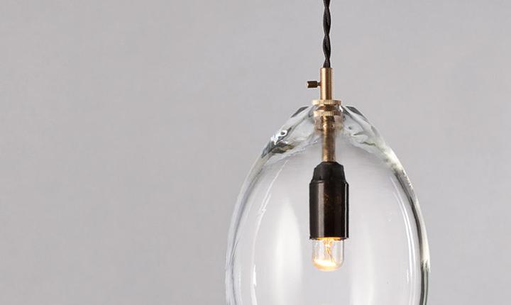 Стеклянный флакон для лампы Unika