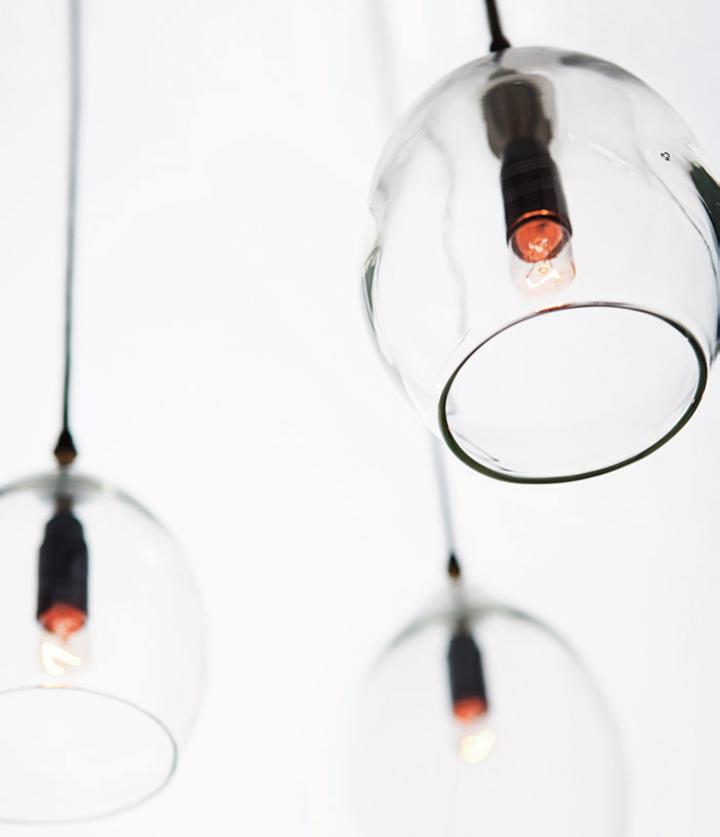 Стеклянная лампа Unika