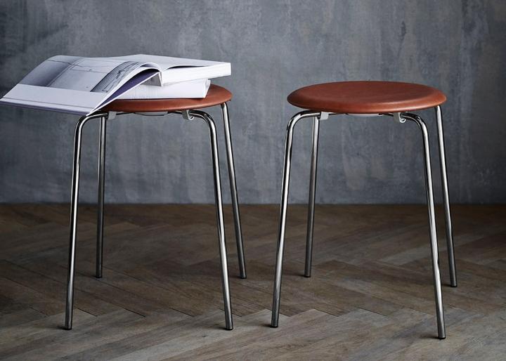 Уникальная коллекция: барные стулья с кожаными сидениями