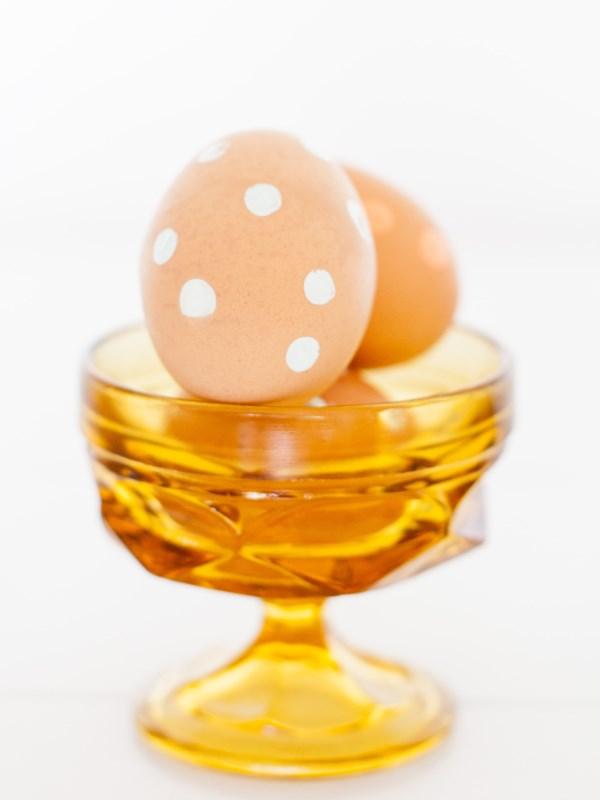 Яйцо в кружочек