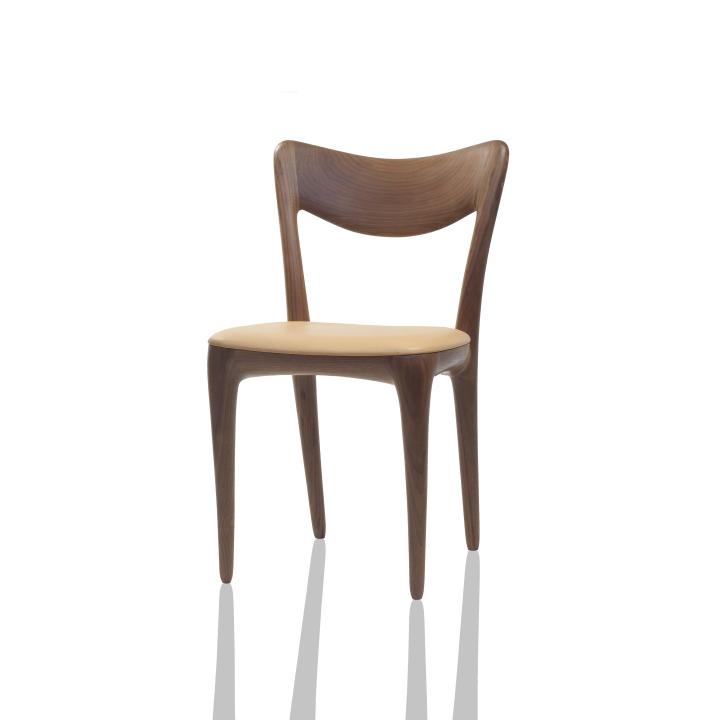 Красивый деревянный стул из коллекции мебели Organic