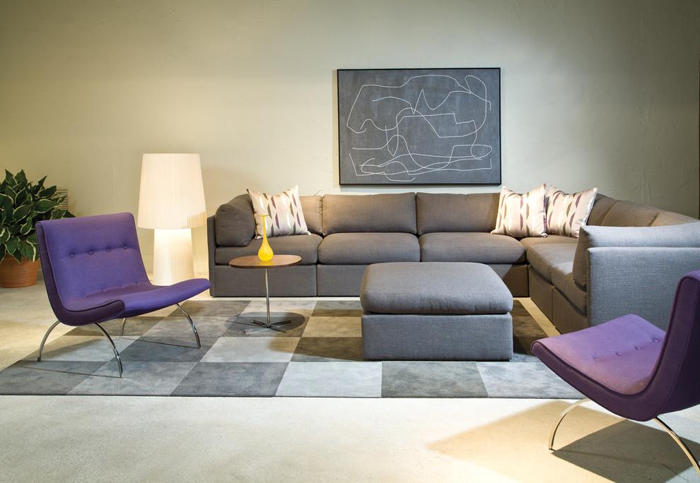 Мягкий уголок и кресла из коллекции мебели от Milo Baughman