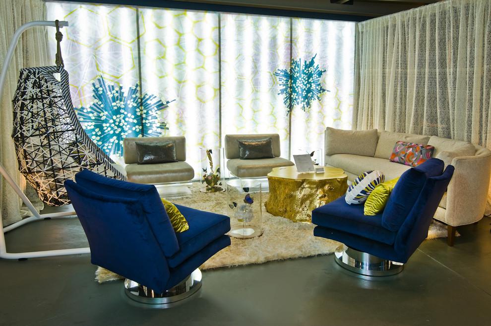 Красивые кресла из коллекции мебели от Milo Baughman