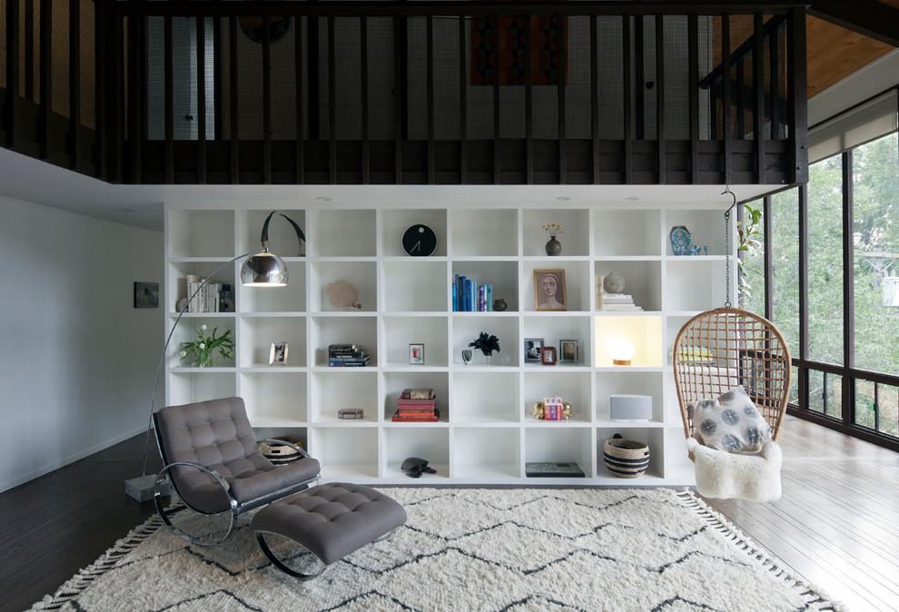Серое кресло и скамья из коллекции мебели от Milo Baughman