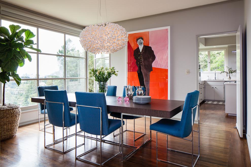 Обеденный стол и стулья из коллекции мебели от Milo Baughman