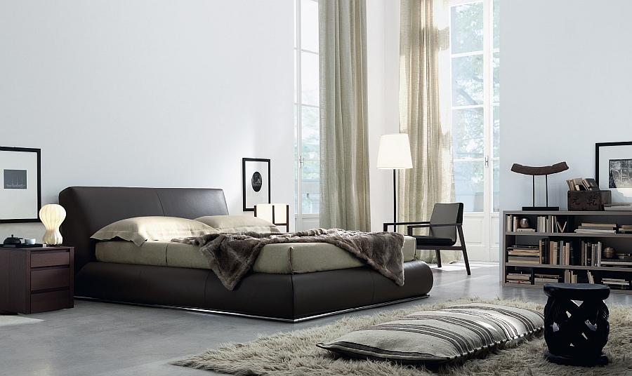 Превосходное сочетание цветовых гамм спальной комнаты