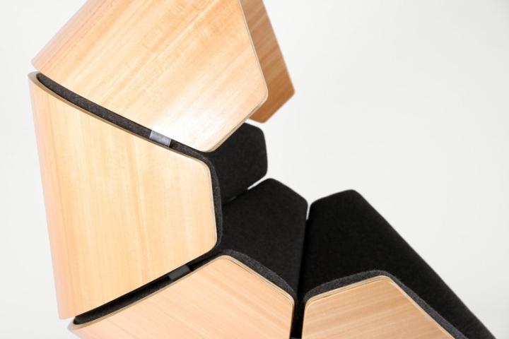 Красивое кресло Hideaway от Think & Shift