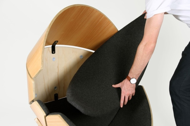Съемный матрац кресла Hideaway от Think & Shift