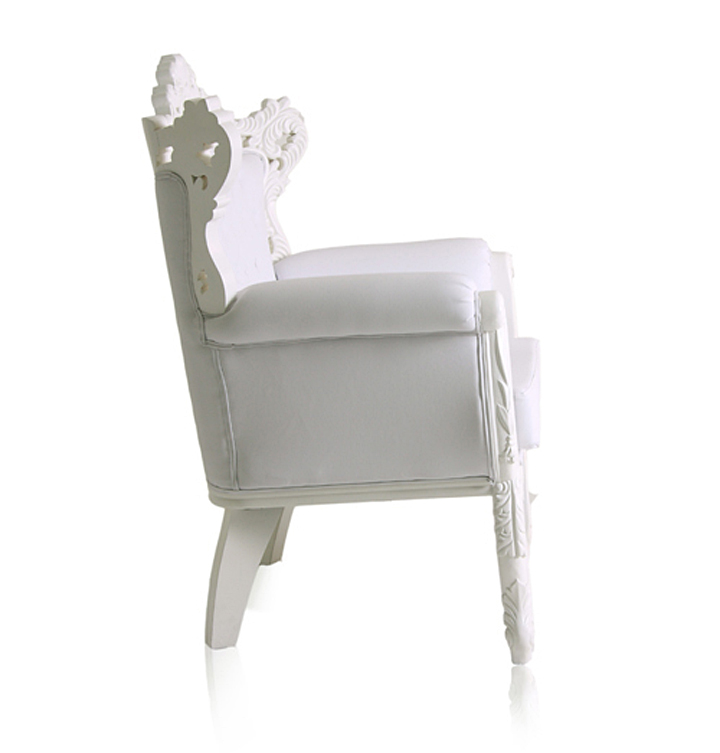 Боковой вид кресла Royal от Modani