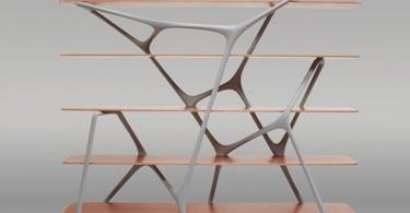 Ошеломительная модель полки Naturoscopie от Noé Duchaufour-Lawrance