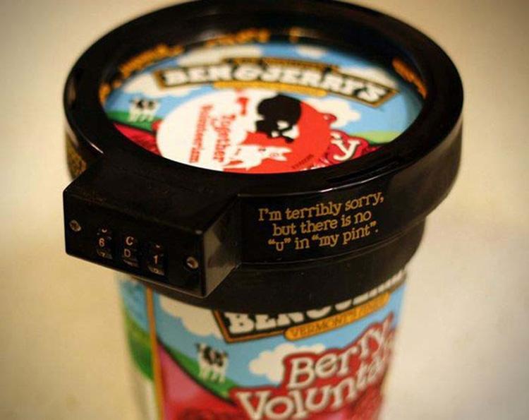 Замок для хранения мороженого