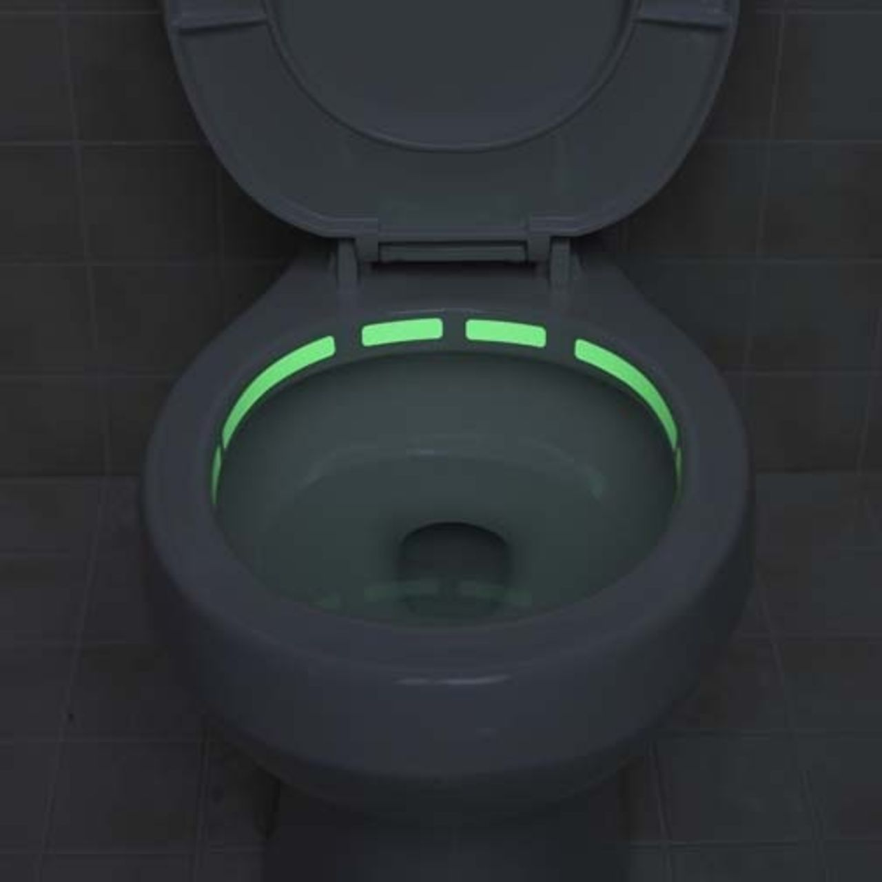 Туалетный ободок с подсветкой